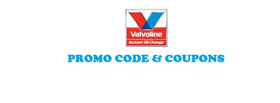 Valvoline Coupon $20 Banner